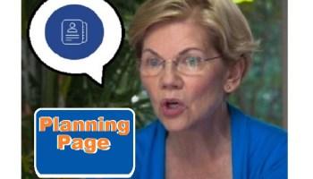 Warren Plan Planning Page