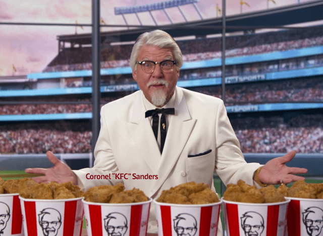 Coronel Sanders fundador do KFC