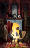 CarolineHadilaksono_The Hound of the Baskervilles - panel 01