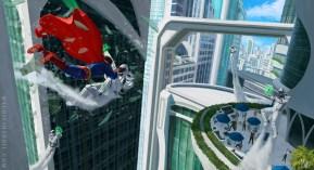 MauricioAbril_SM Superman Metropolis Scene2