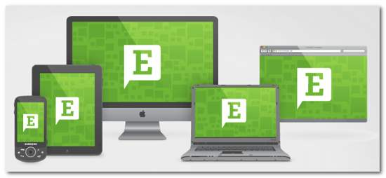 Evernote compatible device