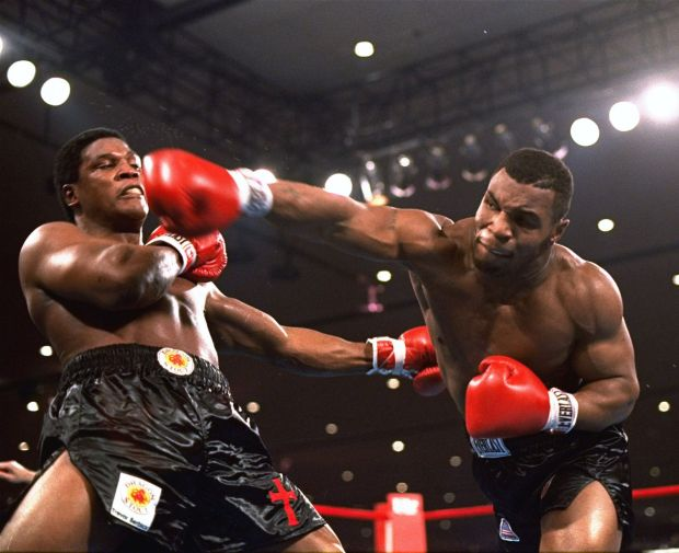 Tyson Defeats Another Apponent