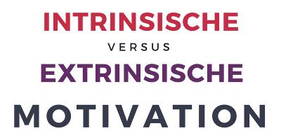 Vorschaubild intrinsische extrinsische Motivation