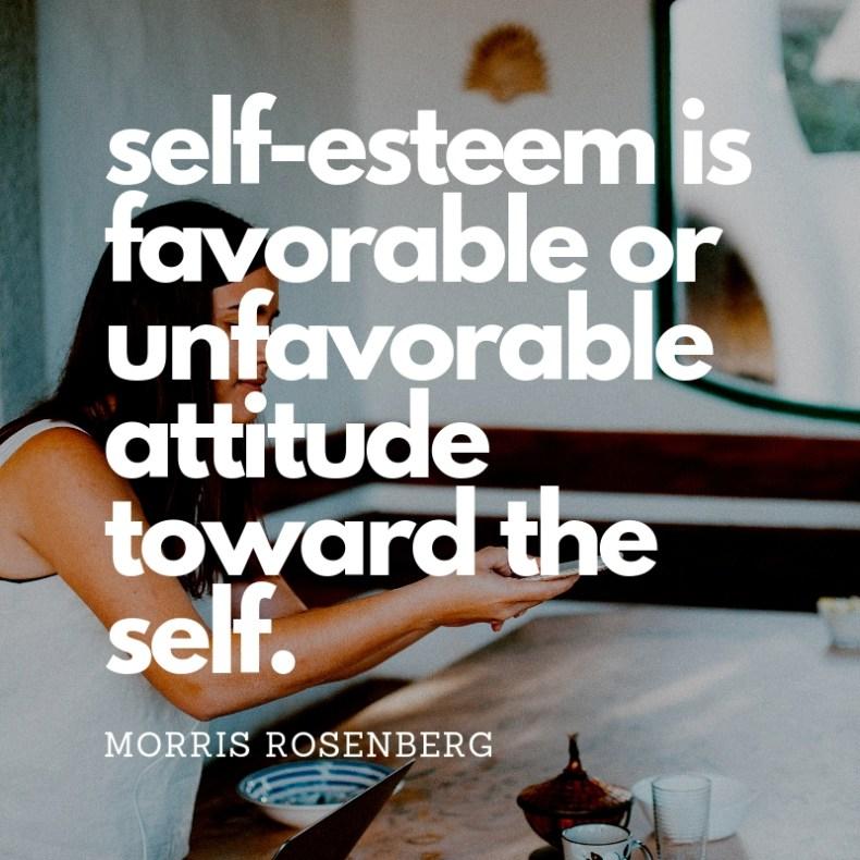 self esteem definition