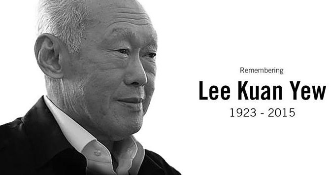 Tribute to Lee Kuan Yew – The Man in the Arena