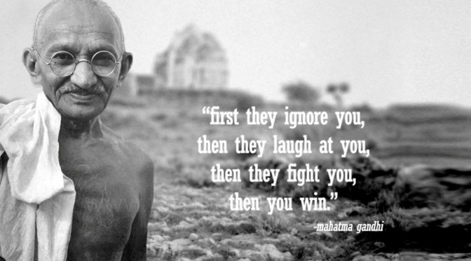Mahatma Gandhi – Inspirational Quotes, Film, and Speech