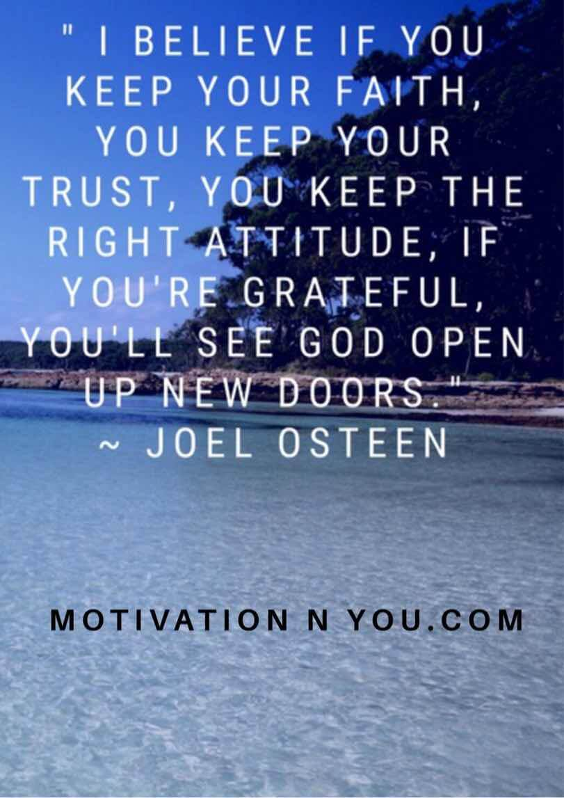 Motivational Quotes - Joel Osteen Quotes - Motivation N You - Motivational Quotes in English