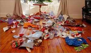 Holiday Trash
