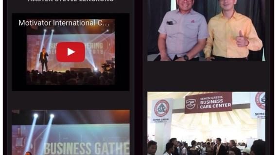 Motivator Semen Gresikdi 1500 peserta madura-juli-2016 Stevie Lengkong