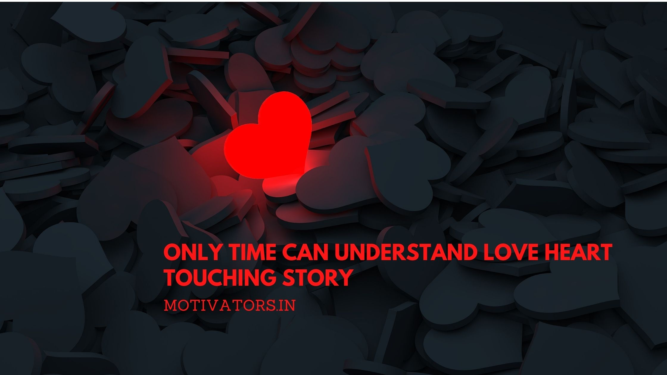 Only Time Can Understand Love