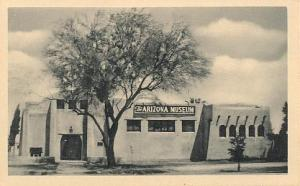 AZ Museum post Card