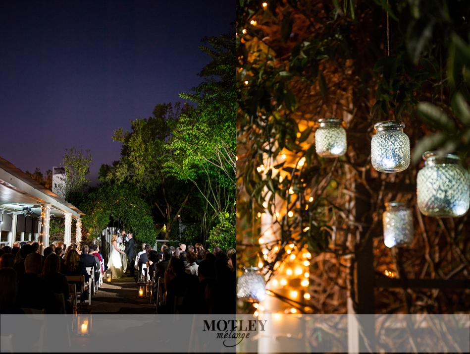A Romantic Ouisies Table Evening Wedding Lisa Amp Chuck