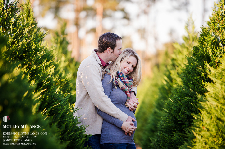 Christmas Tree Farm Maternity Camille Amp Brian Motley