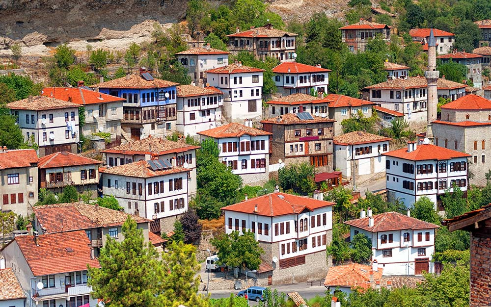 traditional architecture in Turkey