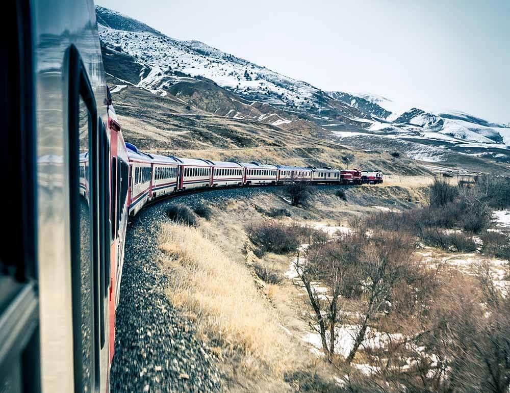 Scenic Train Routes in Turkey