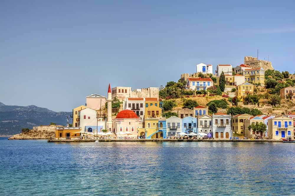 Itineraries that Integrate Turkish and Greek Islands