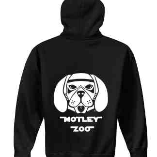 hoodie back DOG motley zoo animal rescue bydfault