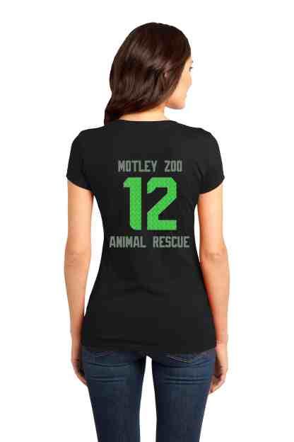 hwkdog women tee back motley zoo animal rescue bydfault