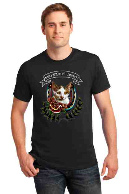 men CAT front motley zoo animal rescue bydfault