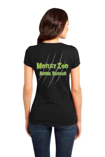 women tee back hissfits motley zoo