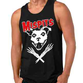 MEN TANK TOP MISPITS front