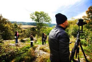 Panoramafotografering av vandringsleder