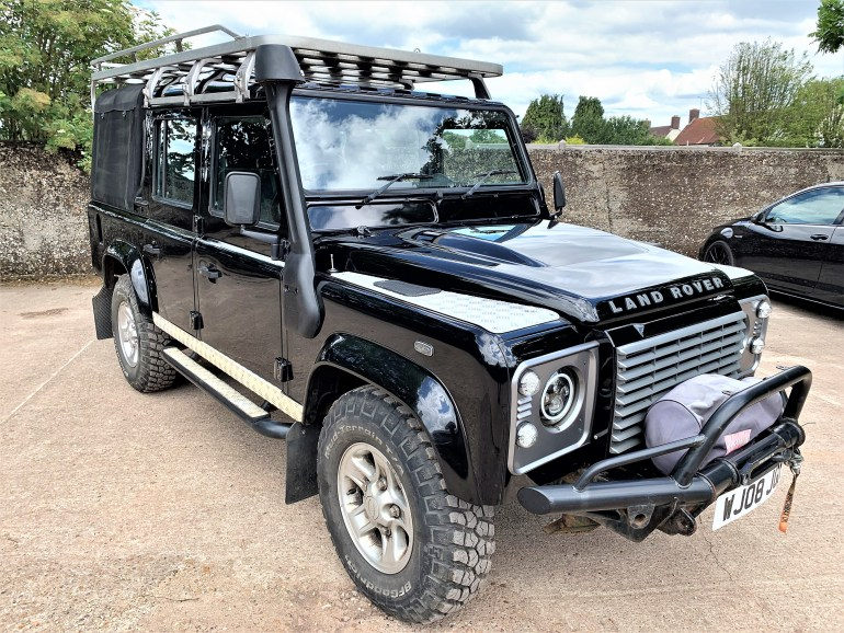 2008 Defender 110 TDCi XS doublecab for sale at Motodrome