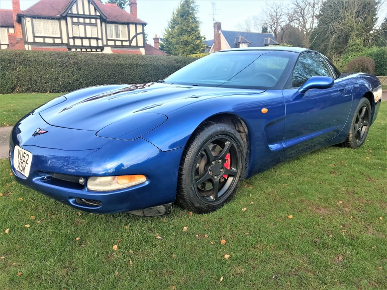 corvette C5 manual for sale at motodrome