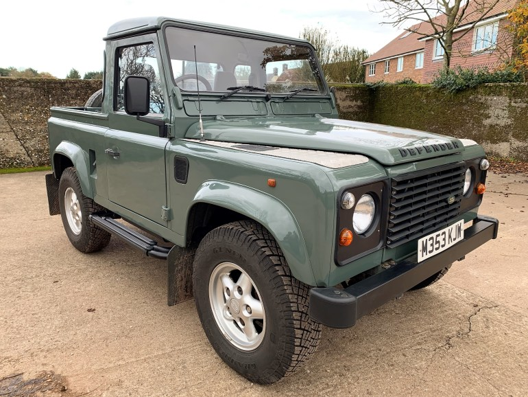 1994 Defender 90 300TDi truckcab for sale