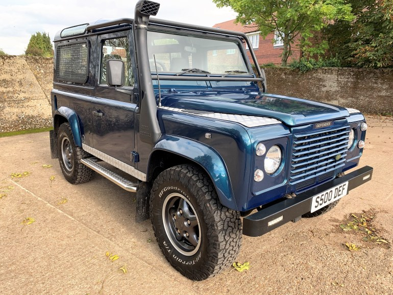 1998 Defender 90 50th anniversary 4.0V8 auto with LPG for sale