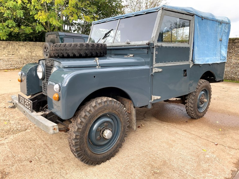 1954 Series One 86in soft top 2.25 petrol for sale