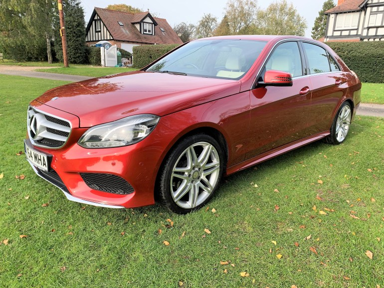 2014/64 Mercedes E220 CDi AMG sport 46000m for sale