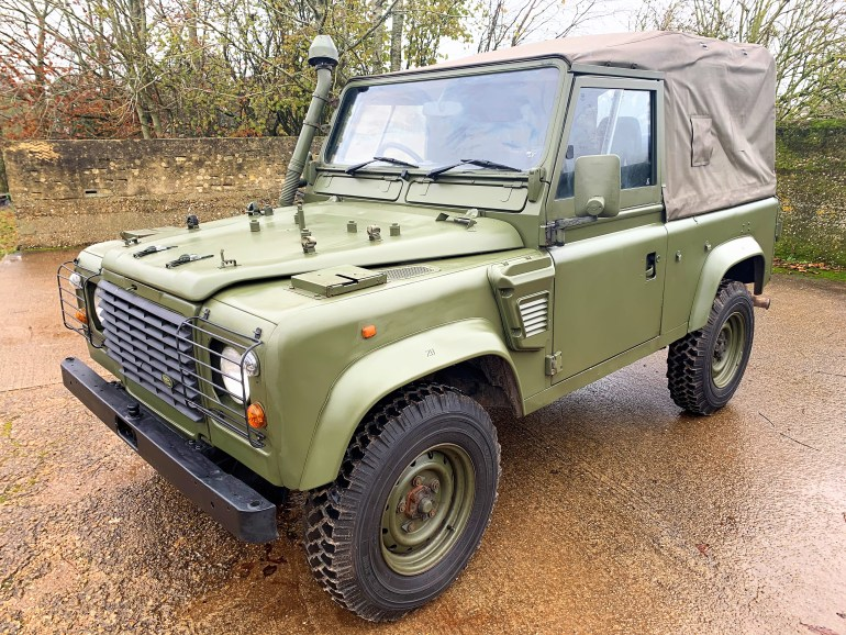1998 Defender 90 300TDi XD Wolf Soft top for sale at motodrome