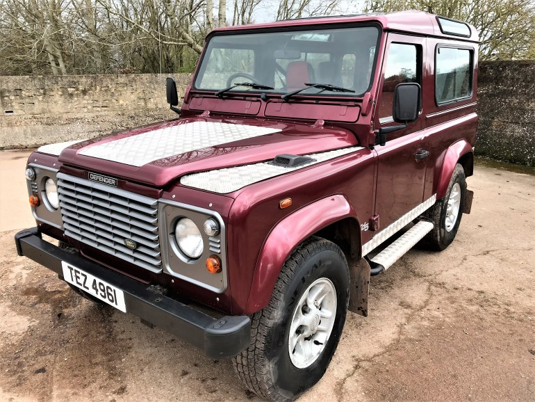 2002 Defender 90 TD5 County Station Wagon  for sale