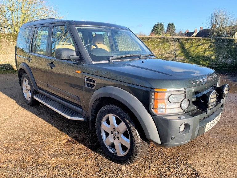 land rover discovery 3 TDV6 HSE auto 7 seater for sale at motodrome