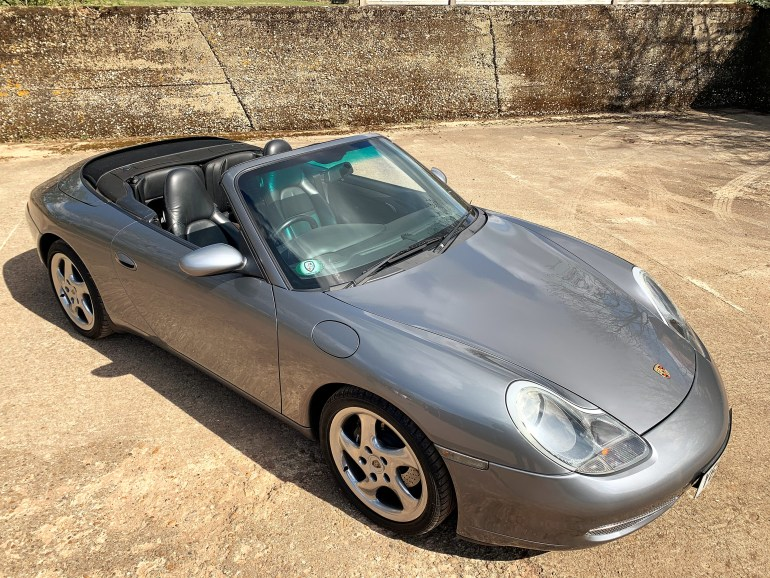 2001 PORSCHE 911 (996) CARRERA 2 CABRIOLET TIPTRONIC S FOR SALE AT MOTODROME