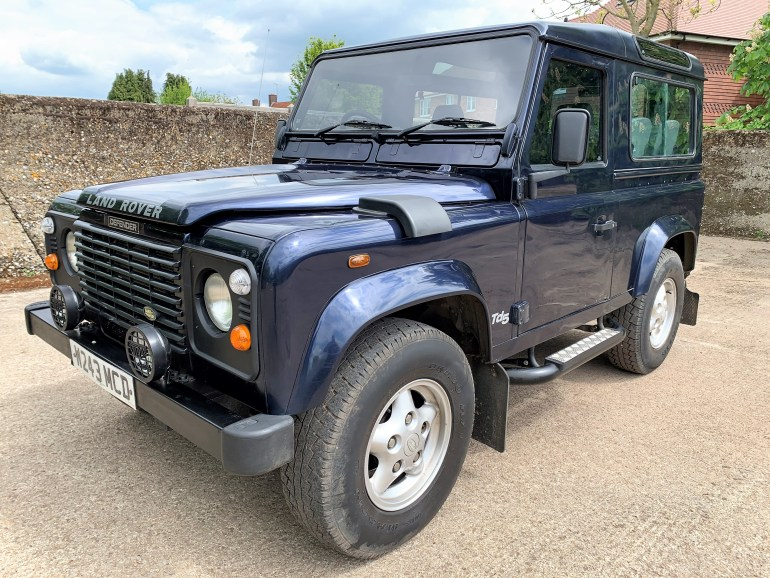 2000/W DEFENDER 90 TD5 COUNTY STATION WAGON 6 SEATER £11795