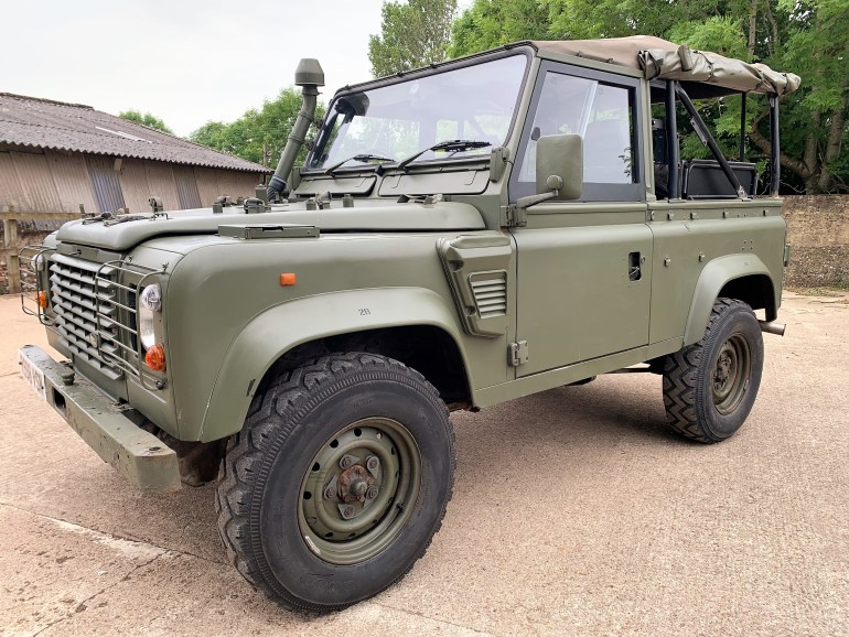 1998 defender wolf for sale at motodrome