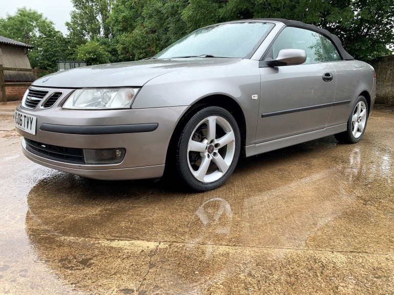 SAAB 9-3 vector 2.0T convertible for sale at motodrome