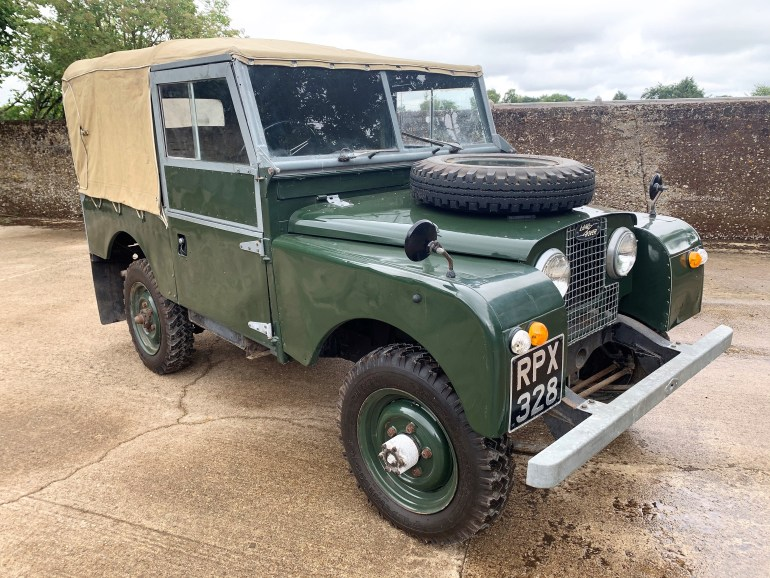 land rover series 1 86in soft top for sale