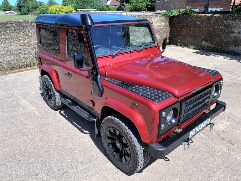 2007 defender 90 TDCi CSW stage 1 upgrade for sale at motodrome