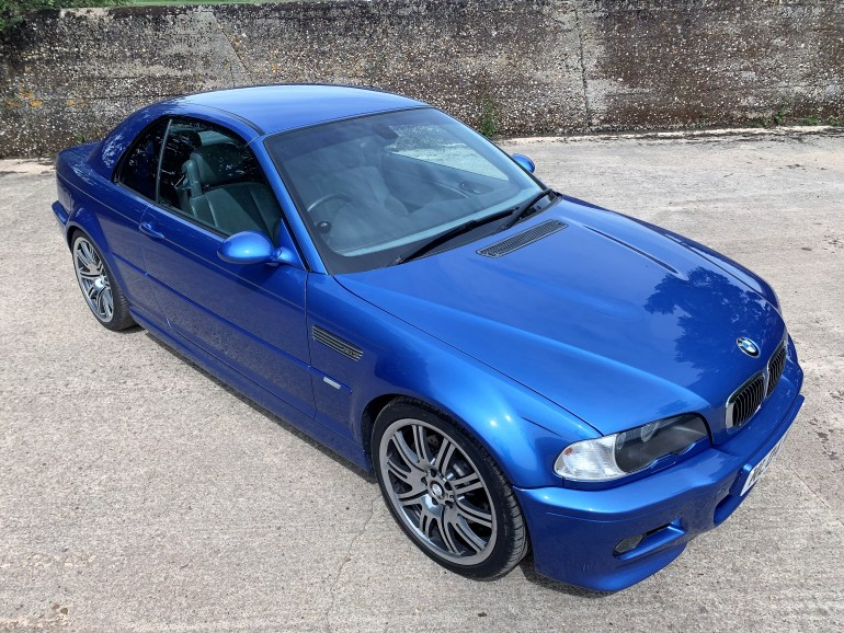 2004 BMW M3 E46 SMG INDIVIDUAL CONVERTIBLE FOR SALE AT MOTODROME