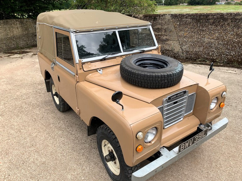 LAND ROVER SERIES 3 88IN DIESEL SOFT TOP FOR SALE AT MOTODROME