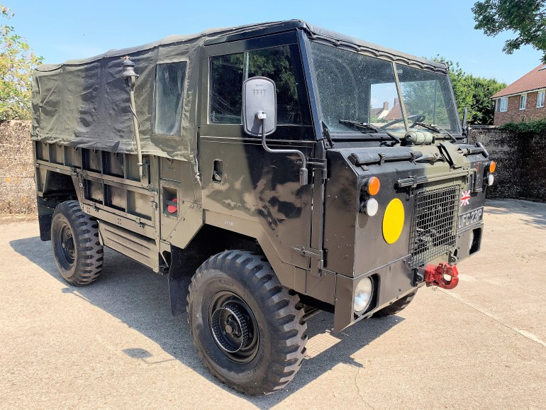 1976 Land Rover 101FC GS left hand drive £19995 FOR SALE AT MOTODROME