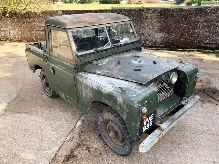 1960 LAND ROVER SERIES 2 88IN PETROL FOR SALE AT MOTODROME THE CLASSIC LAND ROVER SPECIALIST