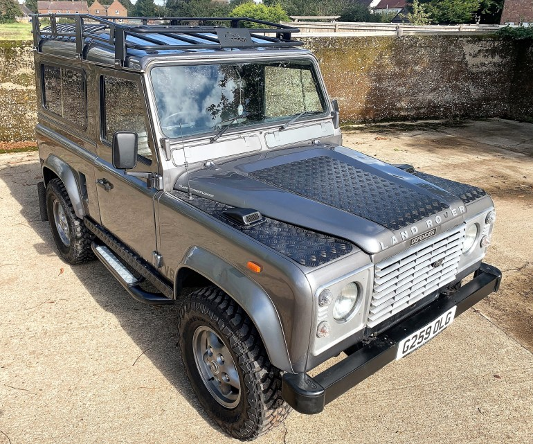 1989 Land Rover 90 with tuned Rover V8 power £10495 FOR SALE AT MOTODROME