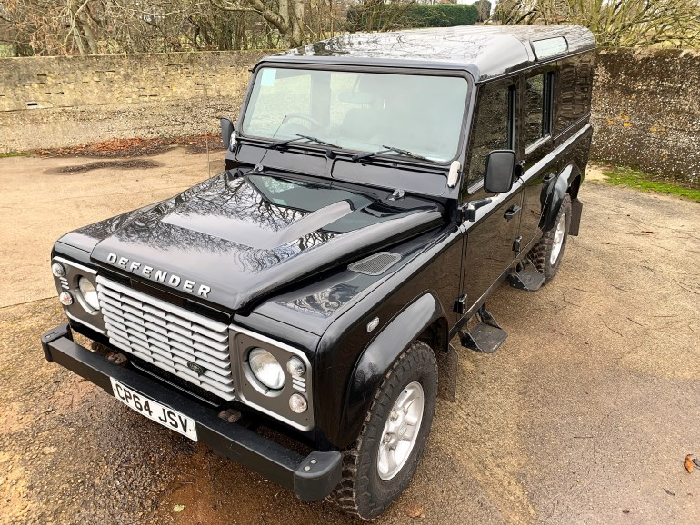 2015 LAND ROVER DEFENDER 110 2.2TDCi COUNTY UTILITY STATION WAGON  1 OWNER FOR SALE AT MOTODROME THE CLASSIC LAND ROVER DEFENDER SPECIALIST