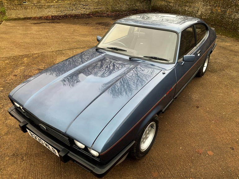 1984/B FORD CAPRI 2.8 INJECTION - RESTORED FOR SALE AT MOTODROME