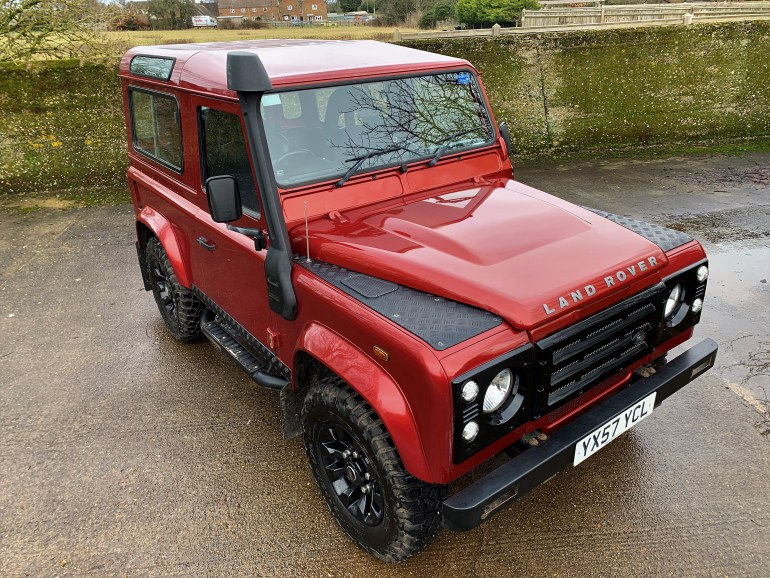 2007/57 LAND ROVER DEFENDER 90 TDCi COUNTY 2 OWNERS FROM NEW  FOR SALE AT MOTODROME THE CLASSIC LAND ROVER SPECIALISTS