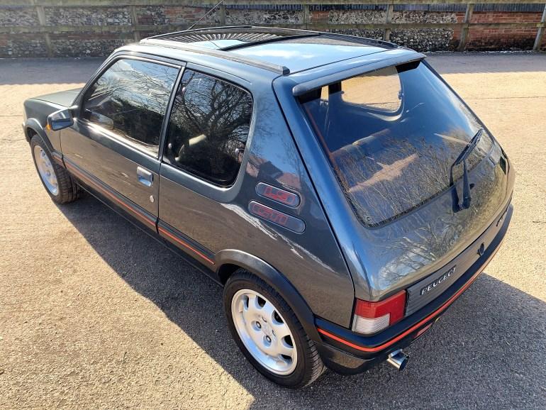 1991 PEUGEOT 205 GTi 1.9 FOR SALE AT MOTODROME
